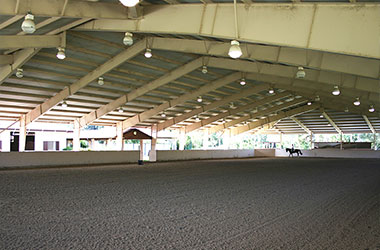 Covered Riding Area